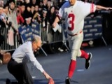 David Letterman - Bill Murray Kicks Field Goals - Season 19 - Episode 3618