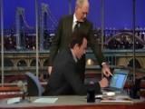 David Letterman - Will Arnett Tweets Jimmy Fallon - Season 19 - Episode 3603