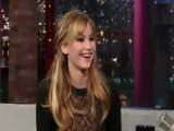 David Letterman - Jennifer Lawrence On Hunger Games Fans - Season 19 - Episode 3546