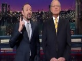 David Letterman - Kevin Spacey In Dave's Monologue - Season 19 - Episode 3635