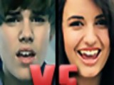Justin Bieber VS Rebecca Black - Death Battle!