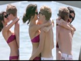 Justin Bieber And Selena Gomez Caught In Action 2011