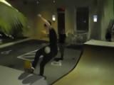 Justin Bieber Shows Fans His Skateboard Moves