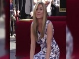 Jennifer Aniston And Justin Theroux Share Kiss As She's Awarded Walk Of Fame Star