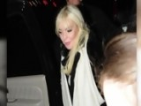 Lindsay Lohan Pranked Entering SNL Afterparty