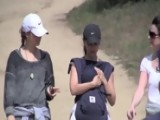 Natalie Portman Shows Off Her Mystery Ring On A Hike