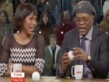 The Talk - Angela Bassett & Samuel L. Jackson On Derek Jeter - Season 2 - Episode 72
