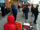Anchorage Protestors Against Sidewalk Ordinance
