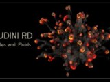 Houdini RD : Particles Emit Fluid
