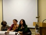 Jenn Pozner Speaks At Women, Media, Revolution Panel
