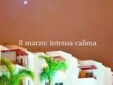 Luna Roja: Calima Sobre Tenerife