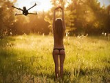 Low-Life. Strider Quadcopter Flights - Flown With Dragon Link