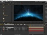 Planet Space Scene In After Effects