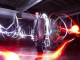 Painting With Light And Strobe Bullet Time