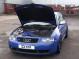 Sandip's R32 Engined Audi S3, De-catted Running Custom Code Phase 2 VVT Attack Map. Conversion Carried Out By PSI Tuning