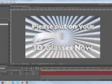 ScreenCandy 3D After Effects Tutorial -3D Glasses Template