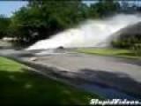 Broken Water-Main Hurts House