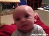 Baby Reacts To April Fool's Joke