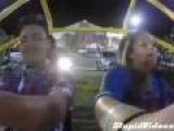 Girl Repeatedly Faints On Slingshot Ride