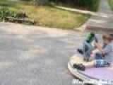 Kid's New Hovercraft