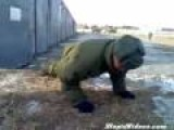 Russian No Handed Pushups