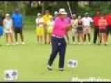 Unlucky Golf Shot To The Balls