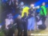 Panther's Fan Falls Out Of Stands