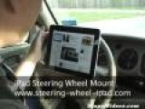 Stupid Product IPad Steering Wheel Mount