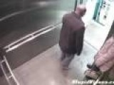 Guy Accidentally Shoots Self In Elevator