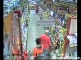 Sneaky Little Punk Pickpockets Grandma In Store