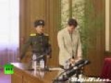 US Student Caught In North Korea Give Press Conference