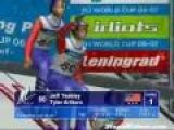 American Ski Jumpers In Japanese Video Game