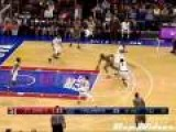 Amazing College Basketball Dunk