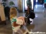 Adorable Girl Has Had Enough Of Traveling