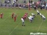Amazing Middle School Football Touchdown