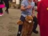Amazing Bear-Riding Costume