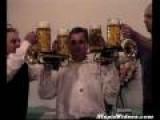 Beer Balancing Trumpet Solo
