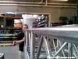 Beat Boxing Through Metal Pipe