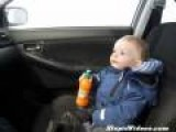 Baby Scared In Car Wash