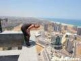 Backflip Fail 40 Stories Up