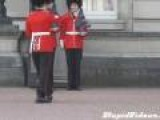 Buckingham Palace Guard Slips