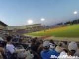 Barehanded Baseball Foul Ball Catch