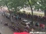 Bad Crash At Tour De France