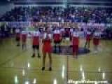 Cheerleading Boys Excite Pep Rally