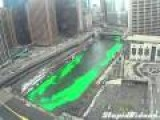 Chicago Paints Its River Green For St. Patrick's Day