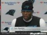 Cam Newton Only Has One Answer