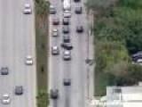 Car Thief Flees On Longboard