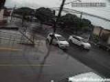 Car VS Open Manhole