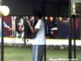 Damian Marley Gets Ready For Soccer