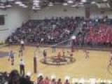 Double Take Down Volleyball Spike
